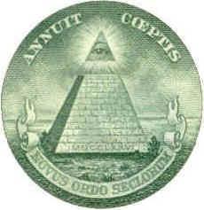 Masonic Pyramid on US Dollar Bill