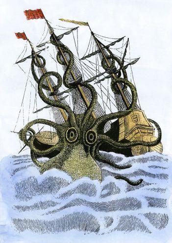 The Kraken Wakes...